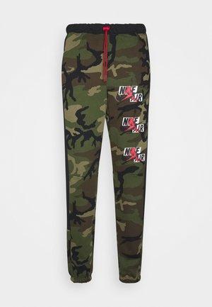 CAMO  PANT - Teplákové kalhoty - medium olive/black