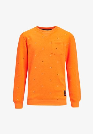 Sweater - bright orange