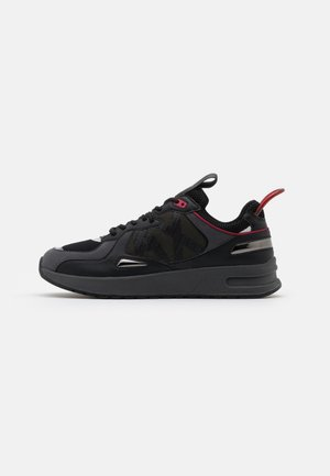 Sneakers laag - black/red
