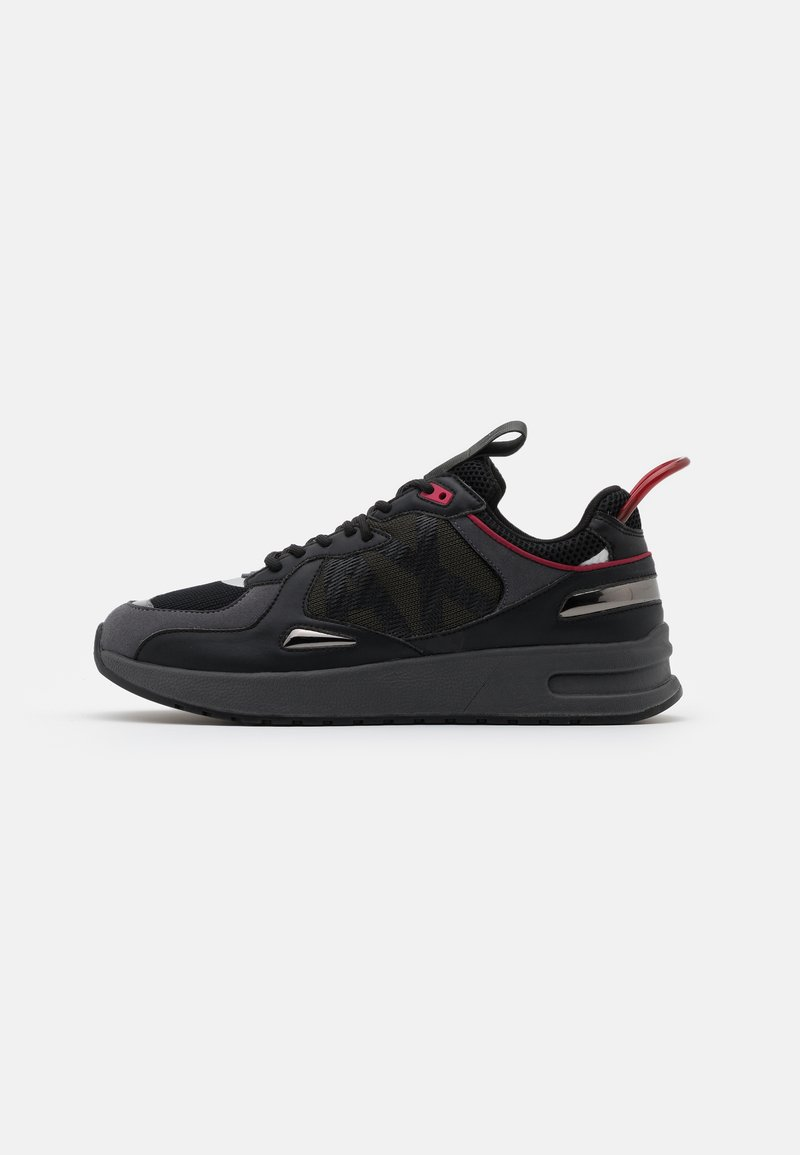 Armani Exchange - Sneakers laag - black/red