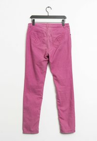 Oui - Straight leg jeans - pink - 1