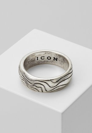 CONTOUR BAND - Ring - silver-coloured