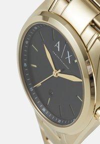 Armani Exchange - Zegarek - gold-coloured - 3