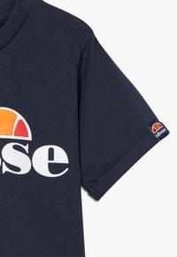 Ellesse - NICKY - Print T-shirt - navy - 3