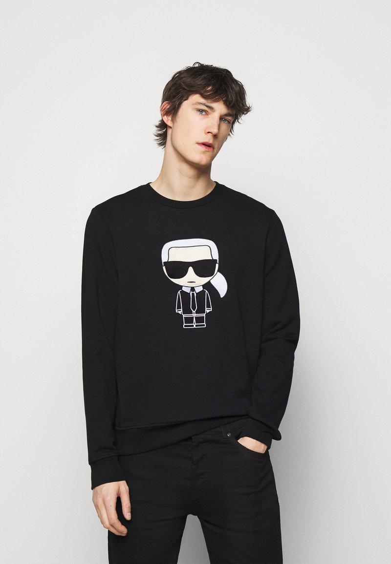 KARL LAGERFELD - CREWNECK - Sweatshirt - black