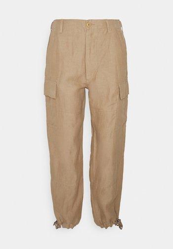 Trousers - montana khaki
