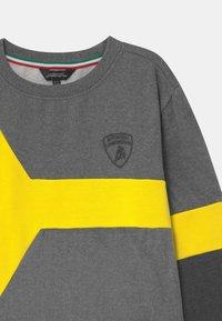 Automobili Lamborghini Kidswear - COLOR INSERT - Sweater - grey estoque - 2