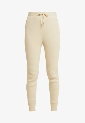 STINE - Trousers - sand melange