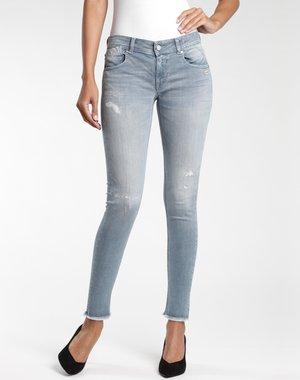 Jeans Skinny Fit - lunar destroy wash