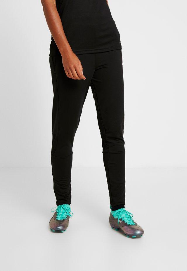 LIGA TRAINING PANTS  - Verryttelyhousut - black/white