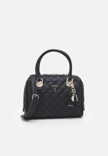 CESSILY BOX SATCHEL - Handbag - black