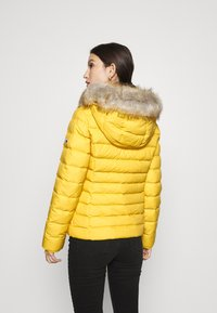 Tommy Jeans - BASIC HOODED JACKET - Doudoune - yellow - 2