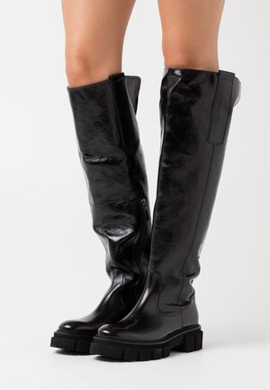 VIDA - Over-the-knee boots - schwarz