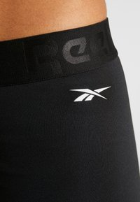 Reebok - WORKOUT READY COMMERCIAL TIGHTS - Leggings - black - 5