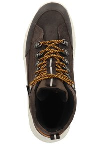 Superfit - Lace-up ankle boots - braun/gelb - 1