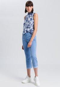 Marc Aurel - Trousers - blue - 1