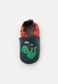 Robeez - HOT DRAGON - First shoes - marine/rouge - 0