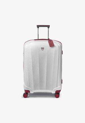 WE ARE GLAM  - Wheeled suitcase - rosso-bianco