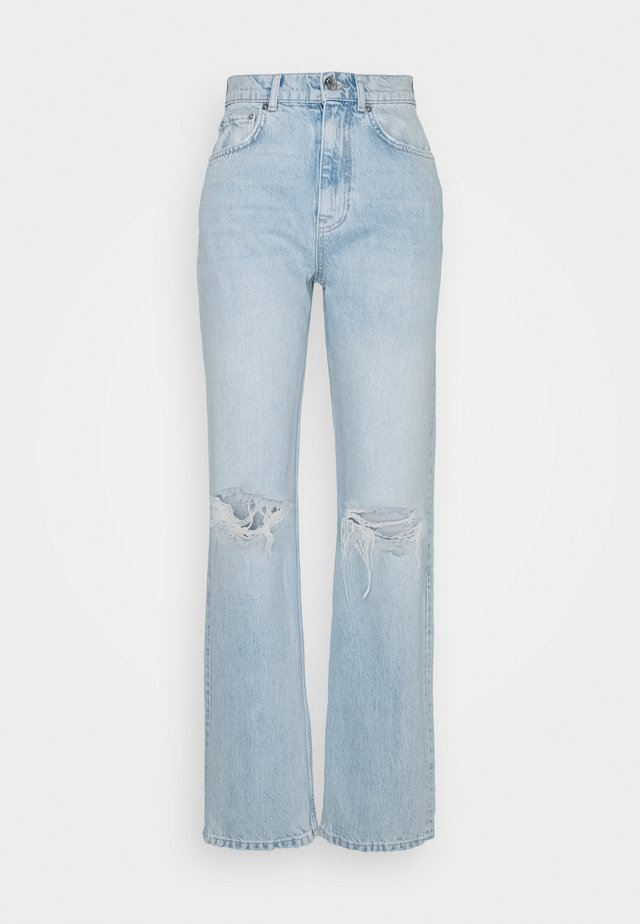 THE 90'S HIWAIST - Relaxed fit jeans - light blue