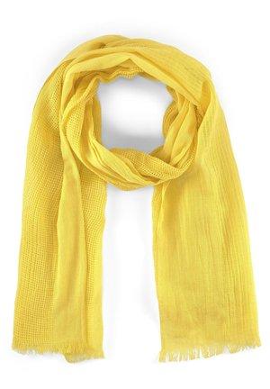 MIT STREIFENSTRUKTUR - Schal - jasmine yellow