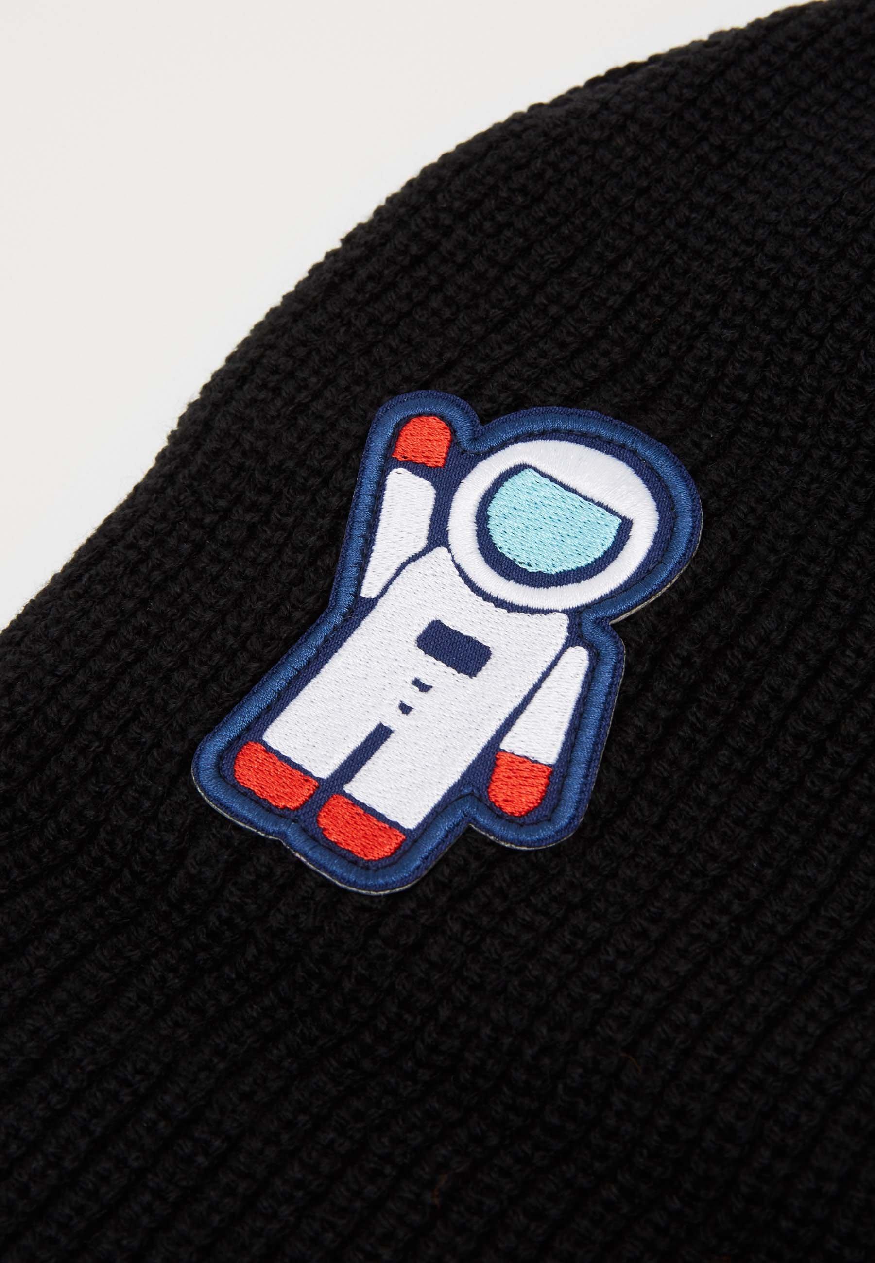 Urban Classics Nasa Embroidery Beanie - Mütze Black/schwarz
