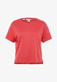 Reebok - TEE SOLID - Print T-shirt - red - 3