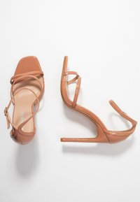 Glamorous Wide Fit - Sandály na vysokém podpatku - nude - 3