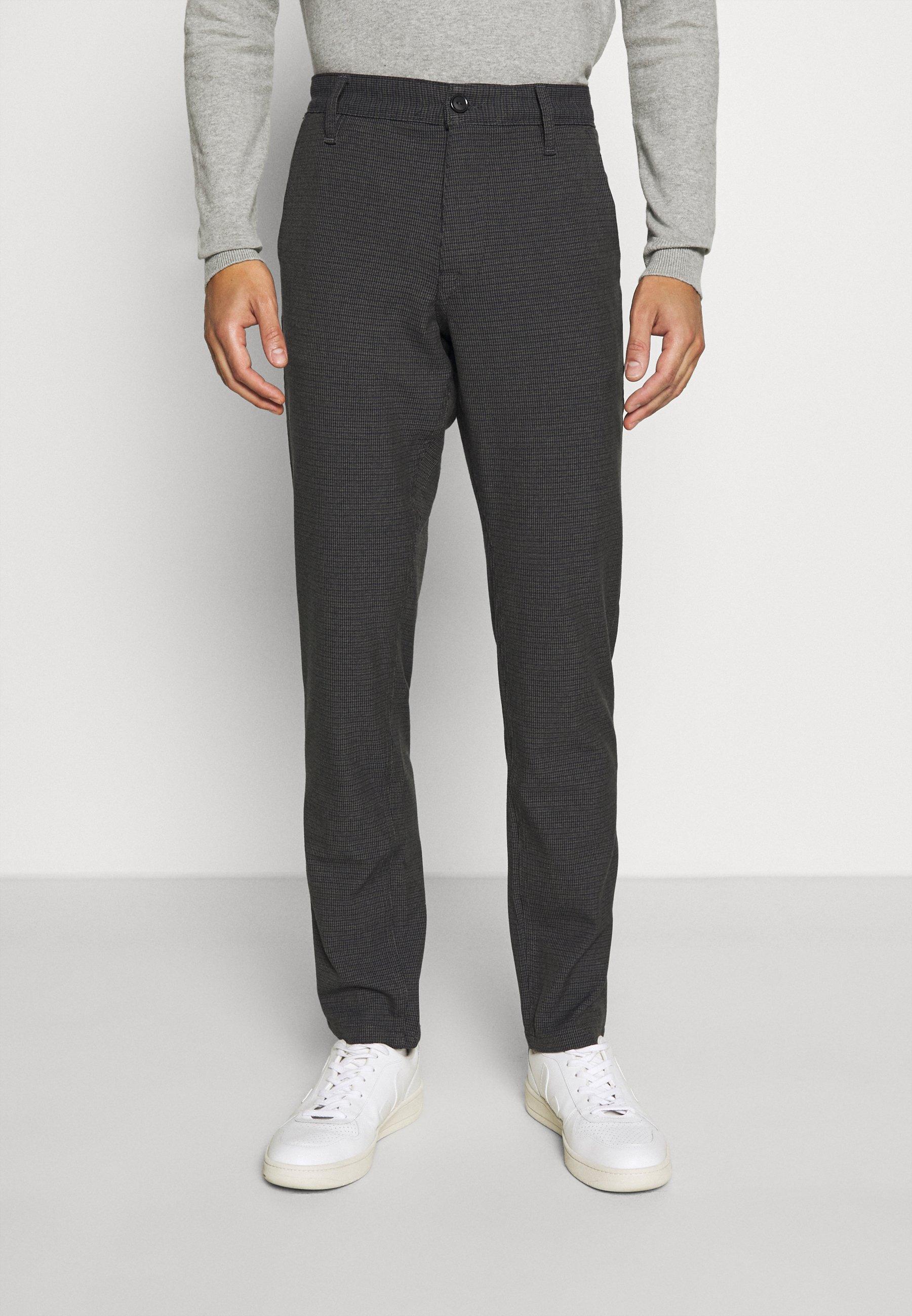Men SLHSLIM STORM FLEX SMART PANTS - Trousers