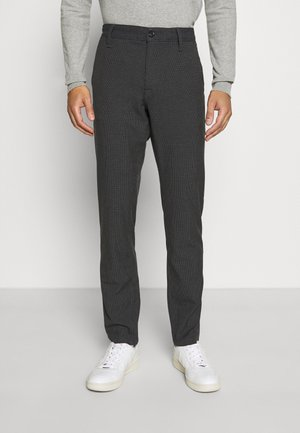 SLHSLIM STORM FLEX SMART PANTS - Trousers - dark grey