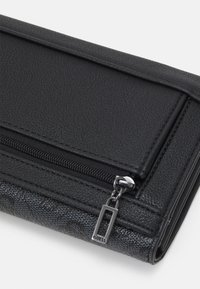 Guess - MIKA POCKET TRIFOLD - Wallet - coal - 4