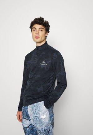 PASCAL - T-shirt à manches longues - black