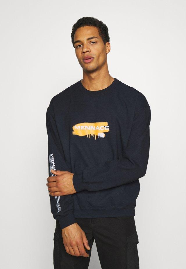 UNISEX SPRAY PAINT  - Sweater - washed black