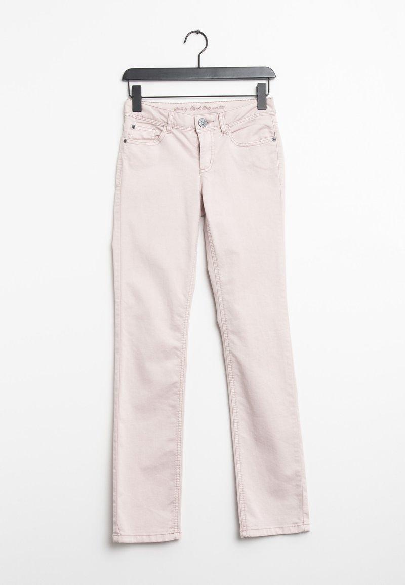 Street One - Straight leg jeans - pink