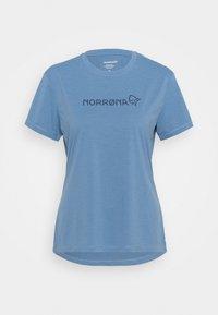 Norrøna - TECH - T-shirt imprimé - coronet blue - 0