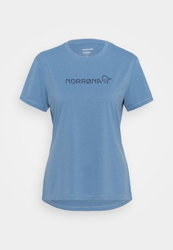 TECH - T-shirts med print - coronet blue