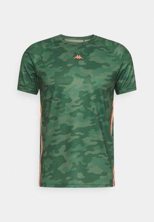 IRAL - Print T-shirt - duck green