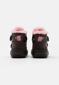 Superfit - GLACIER - Winter boots - braun/rosa - 2