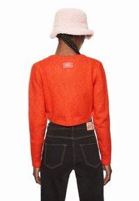 Pepe Jeans - DUA LIPA X PEPE JEANS - Cardigan - bright orange - 2