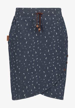 LUCYAK  - Puffball skirt - marine