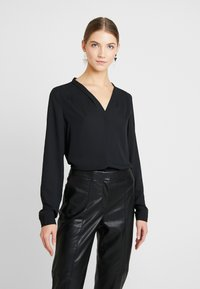 Vero Moda - VMELIZABETH - Bluse - black - 0