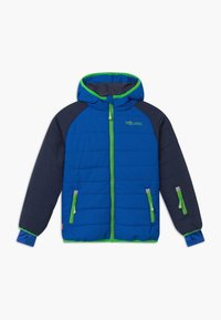 TrollKids - KIDS HAFJELL SNOW JACKET PRO - Ski jacket - navy/med blue/green - 0