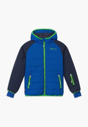 KIDS HAFJELL SNOW JACKET PRO - Ski jacket - navy/med blue/green