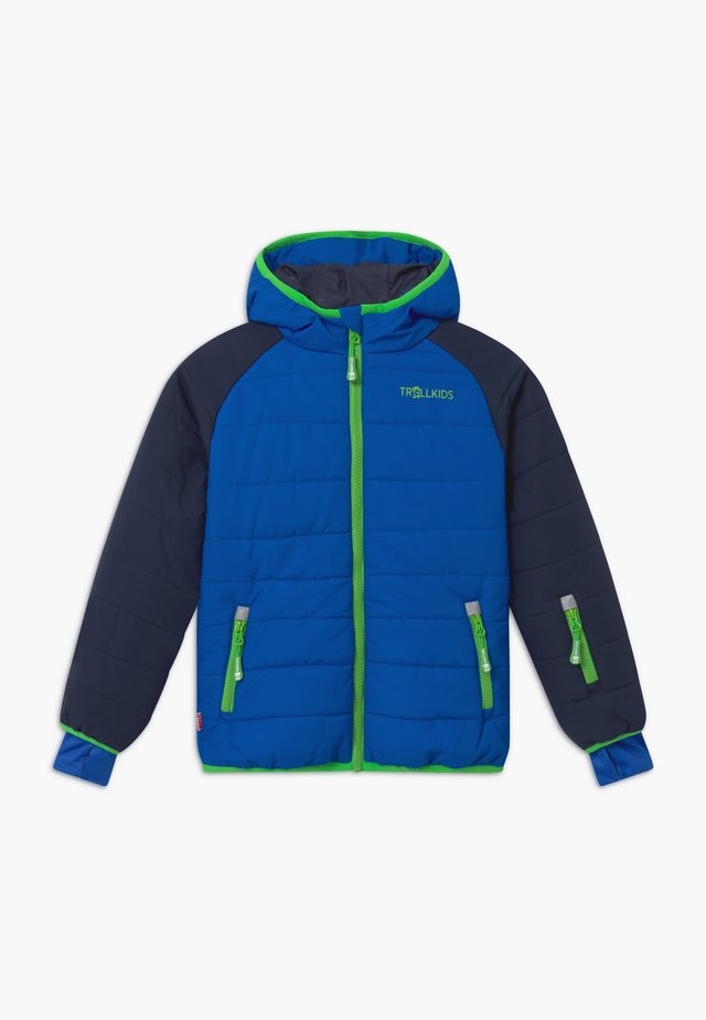 KIDS HAFJELL SNOW JACKET PRO - Giacca da sci - navy/med blue/green