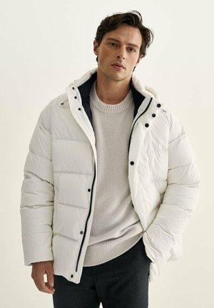 Winterjas - white