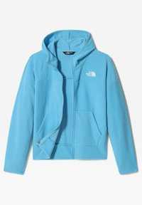 The North Face - G GLACIER FULL ZIP HOODIE - Sudadera con cremallera - ethereal blue - 2