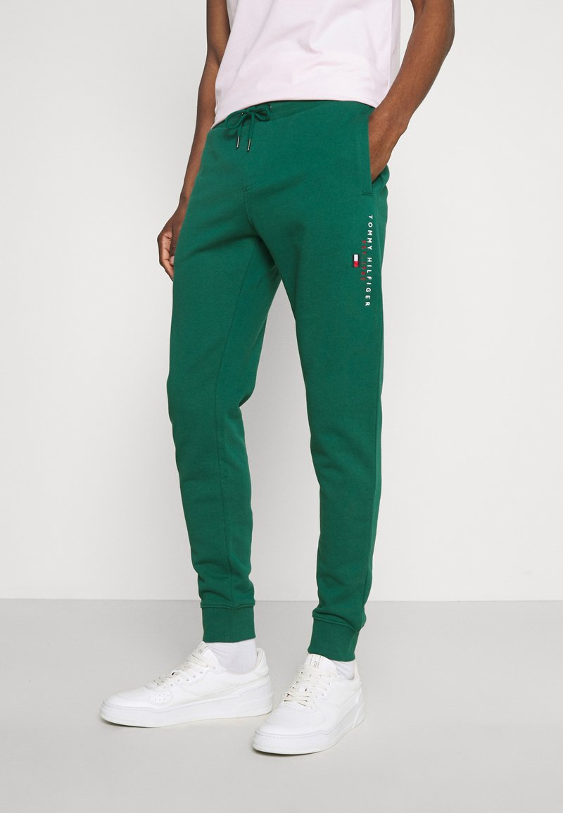 Tommy Hilfiger - ESSENTIAL - Pantaloni sportivi - rural green