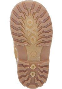 Richter - Lace-up ankle boots - curry/cognac - 3