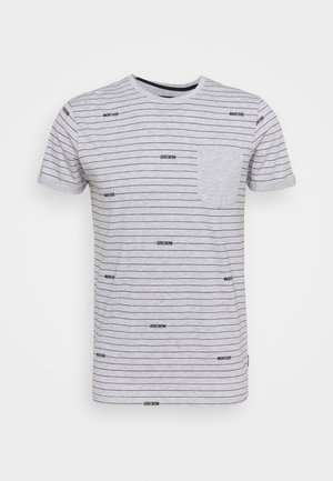 ECKLEY - T-Shirt print - light grey mix