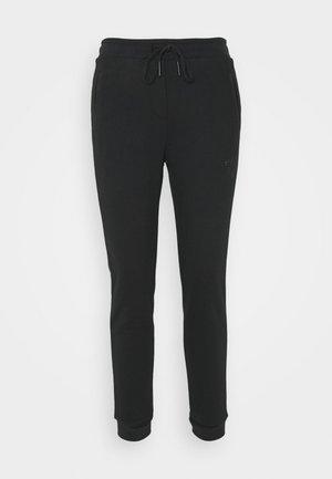 HORSESHOE RHINESTONES  - Teplákové kalhoty - black