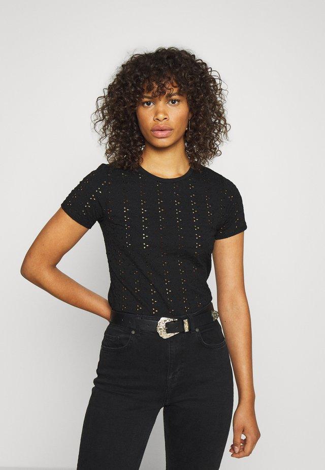ONLGRACE LIFE - T-shirt imprimé - black